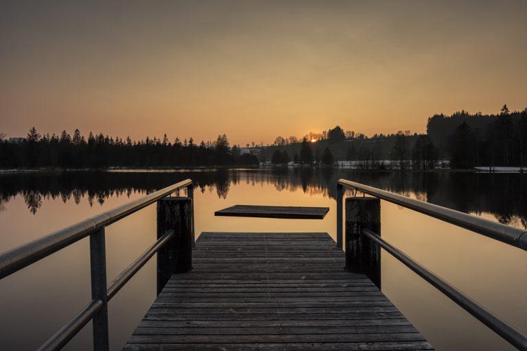 Stille über dem See