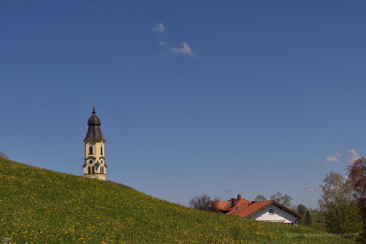 H a l b e r Kirchturm