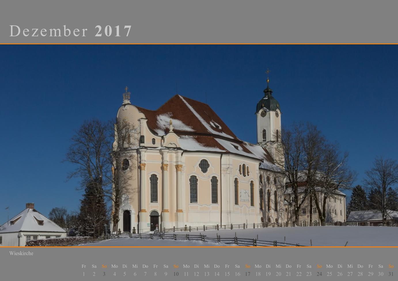Kalender 2017 Dezember