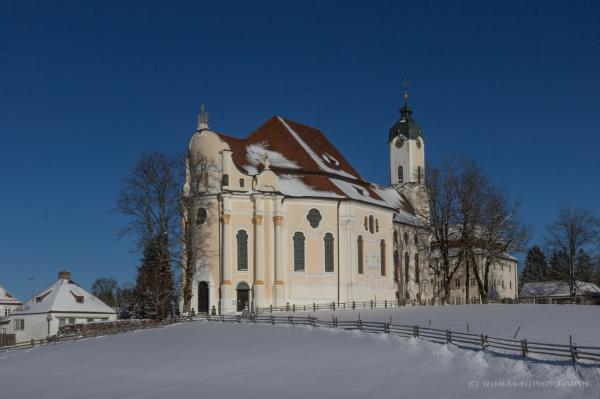 Wieskirche im Winter