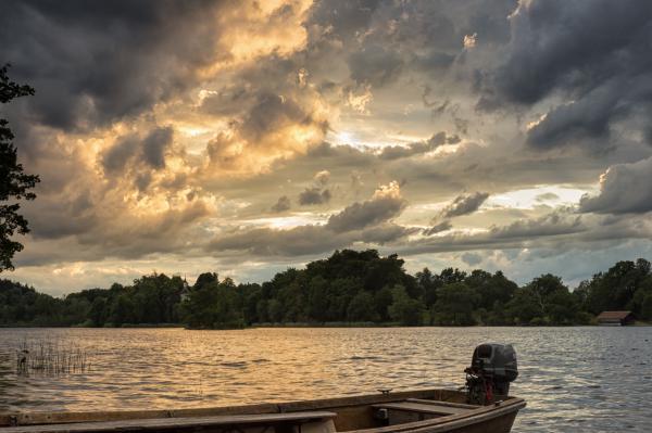 Wolkenstimmung am Staffelsee
